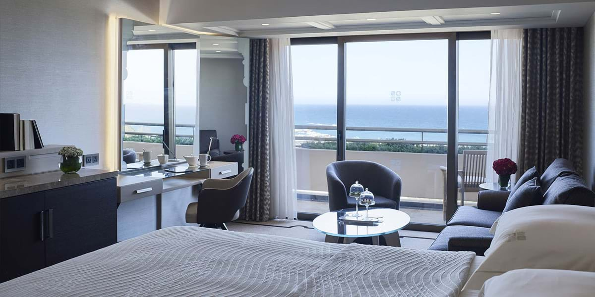 Family Sea View Room, best hotel in Limassol