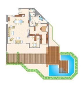 The Royal Suite Floor Plan
