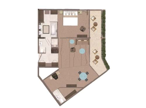 Garden Suite Floor Plan