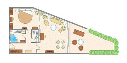 Princess Suite Floor Plan
